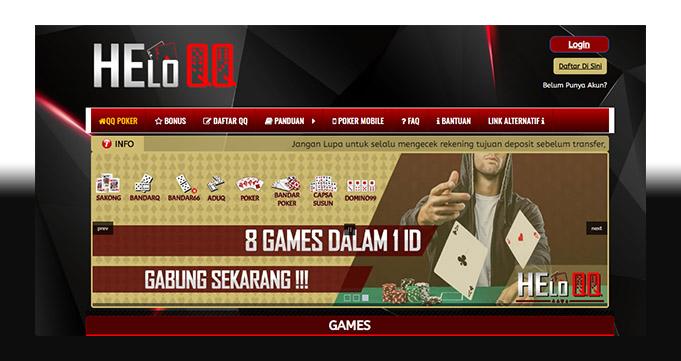 Situs Judi PokerQQ Online Terbaik